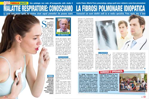 articolo IPF magazine ORA
