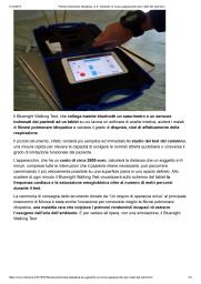 Fibrosi polmonare idiopatica, al S. Gerardo un nuovo apparecchio per il test del cammino-2